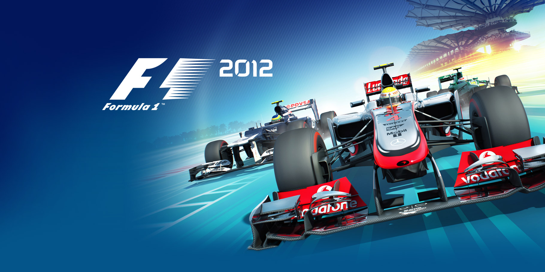 Artwork for F1 2012