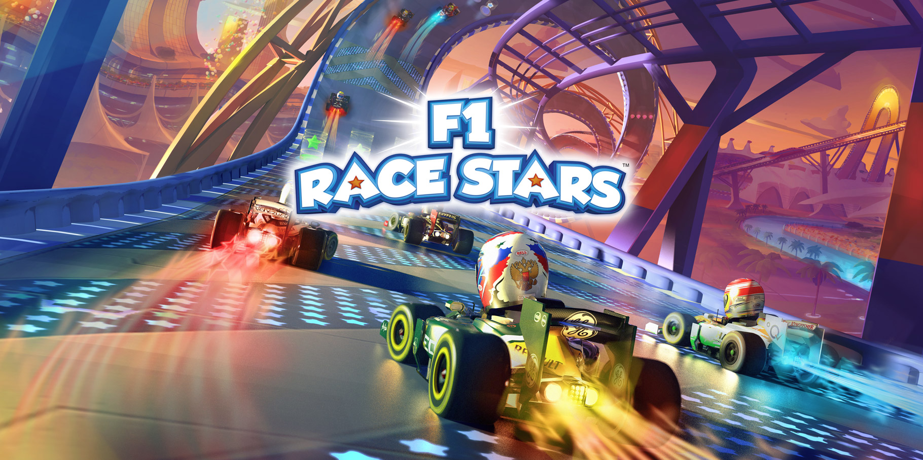 Artwork for F1 Race Stars