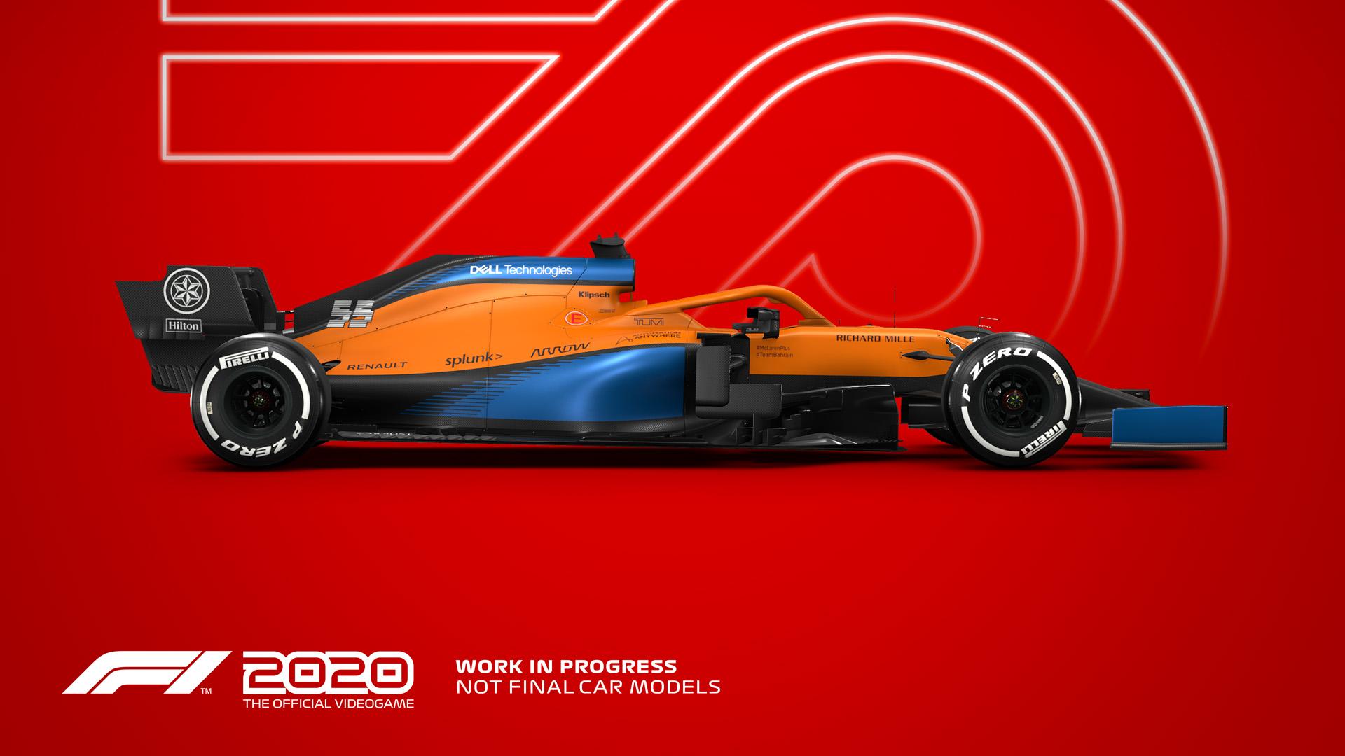 F1 2020 Codemasters Racing Ahead